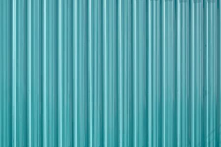 Green zinc metal corrugated fence,metalsheet fence for background,Abstract background Reklamní fotografie