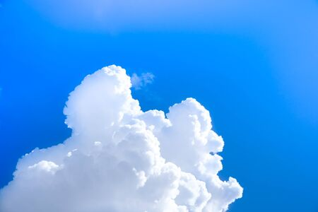 Blue sky with cloud with background daylight,Cloudy blue sky abstract background