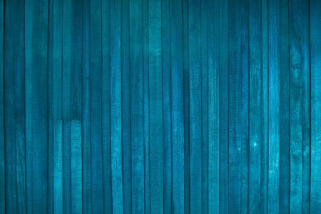 Old blue retro wooden pattern texture background ,retro for wooden background