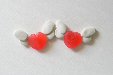 sweet heart: Sweet heart candy flying angel