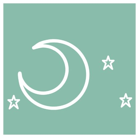 bed time: Moon and Star, Bed time icon