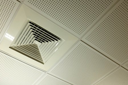 ceiling: Air condition in office
