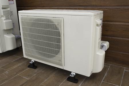 compresor: Compresor de aire Foto de archivo