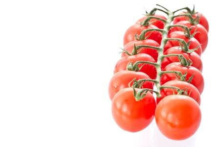 ripe red tomatoes isolated on white background Stock Photo - 10992744