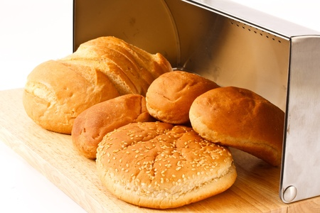 breadbasket: freshly baked bread in the breadbasket complex