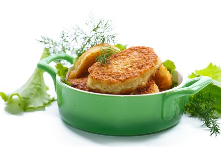cutlets: vegetable cutlets with cabbage on a plate