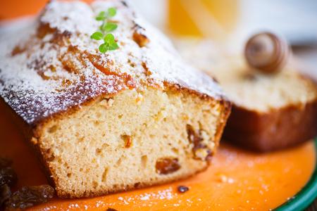 pumpkin muffins with honey and raisins