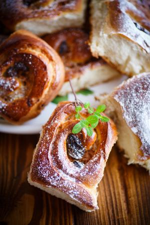 membrillo: panecillos dulces con pasas