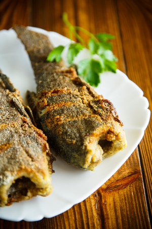 fried fish in breading