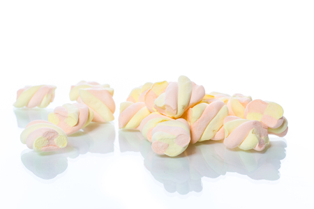 sweet multi-colored candy marshmallow
