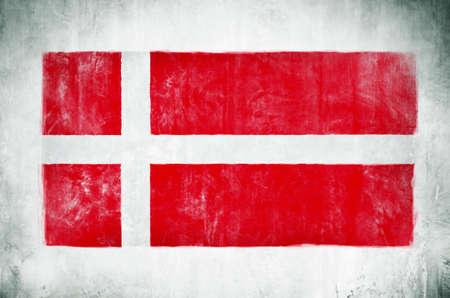 デンマークの国旗の絵