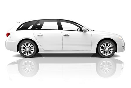 VUS de luxe de la voiture 3D Banque d'images - 26814212
