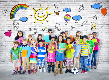 Smart kids Stock Photo - 28792716