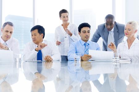 african business man: Business Meeting