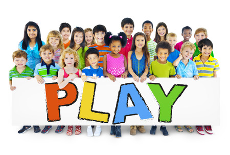 Children with Play Concept photo