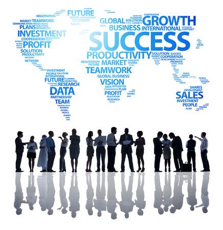 business teamwork: Productivity Management