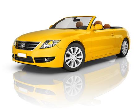 Orange auto transformable Banque d'images