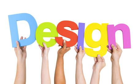 designer: People Holding Colorful Design