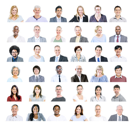 people: Group of Multiethnic Diverse Business People