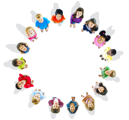 Kids is circle photo