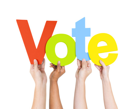 vote: VOTE  Stock Photo