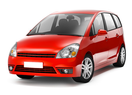3D Red Auto