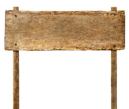 Holzschild mit Textfreiraum Standard-Bild - 28911973