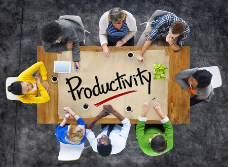 productivity: People in a Meeting and Single Word Productivity
