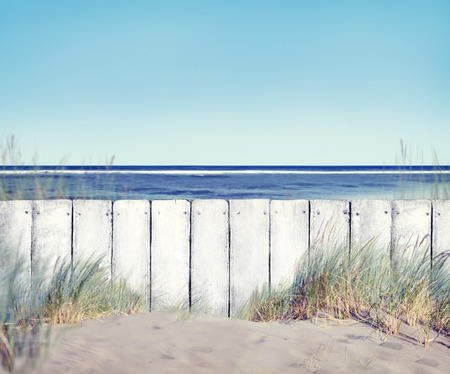 fence: Beach and Fence