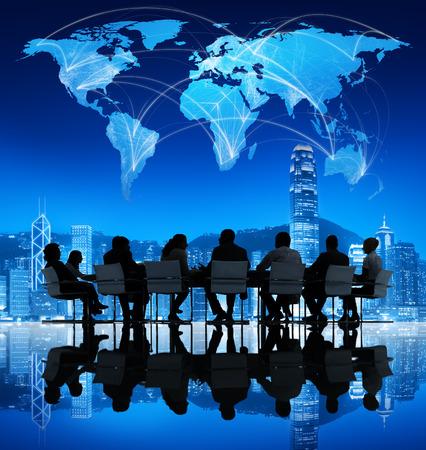 Internationale Geschäftswelt Treffen Standard-Bild - 31289832