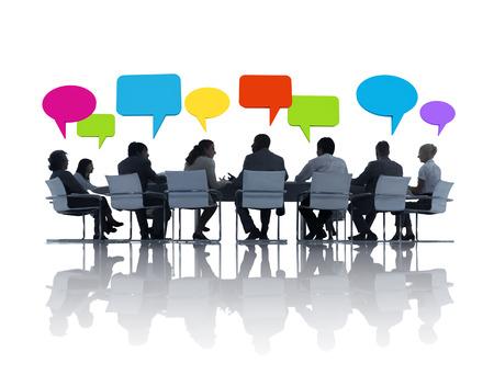 Grupo de hombres de negocios Reunión Foto de archivo - 31289838