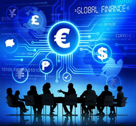 Business People and Global Finance Concepts photo