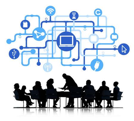 computer netzwerk: Das Computer-Netzwerk-Anschluss