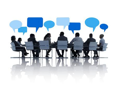 Reunión de negocios Foto de archivo - 31289931