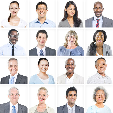 Portrait of Multiethnic Diverse Business People photo