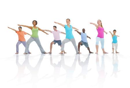 Groupe de personnes en bonne santé dans Fitness Banque d'images - 31292953