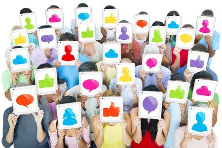 Redes Sociales Foto de archivo