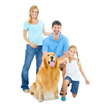 Happy Family Banque d'images - 31293055