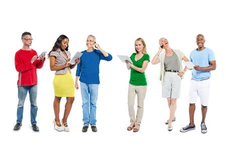 people communicating: Diverse People Communicating