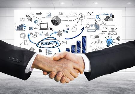 planeación estrategica: La planificación estratégica de negocios Foto de archivo