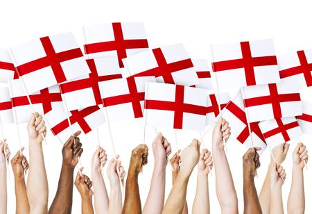 drapeau anglais: Pavillon anglais Banque d'images