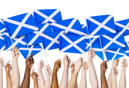 scottish flag: Bandiera scozzese