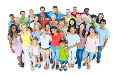 diversidad: Gran grupo de personas