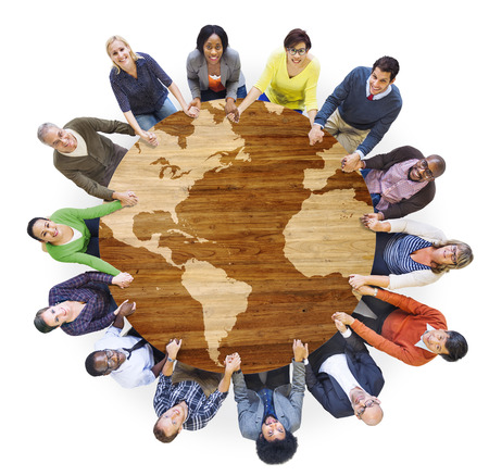 Group of Diverse Multiethnic People Holding Hands