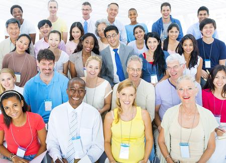 Large Group of participants