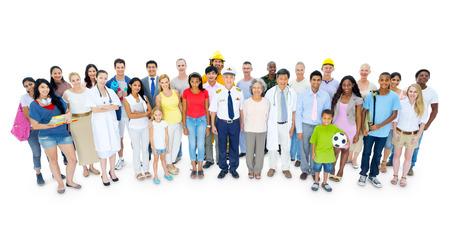 Grand groupe de personnes Banque d'images - 31292744
