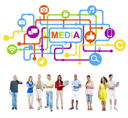 Social Media Connection photo