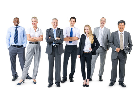 Gruppe Geschäftsleute Standard-Bild - 31276979