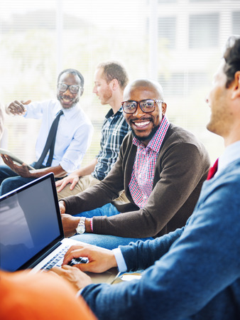 african business: Smart Casual Man Looking at Camera Stock Photo
