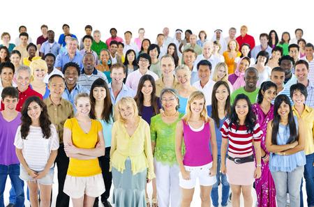 人々 の大規模な多民族グループ